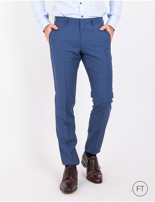 Roy Robson kostuumbroek blauw