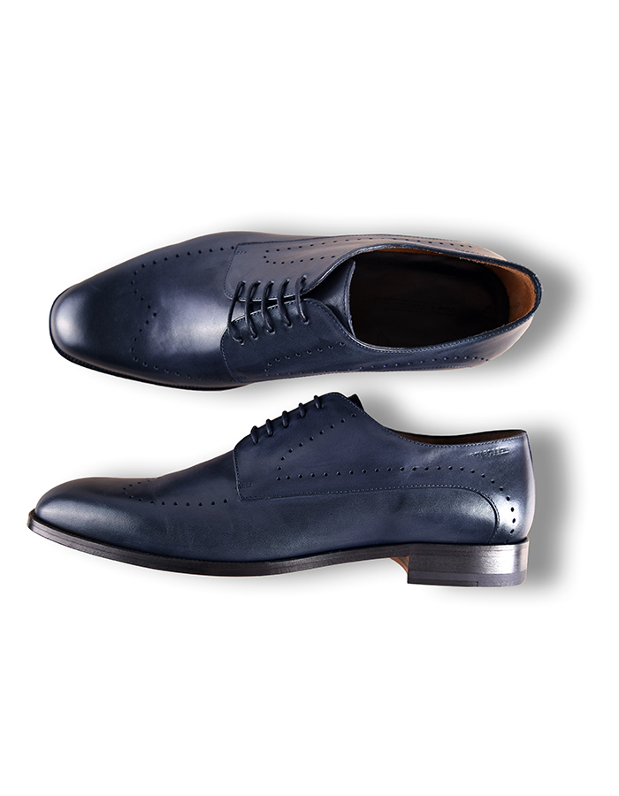 Roy Robson geklede schoenen blauw