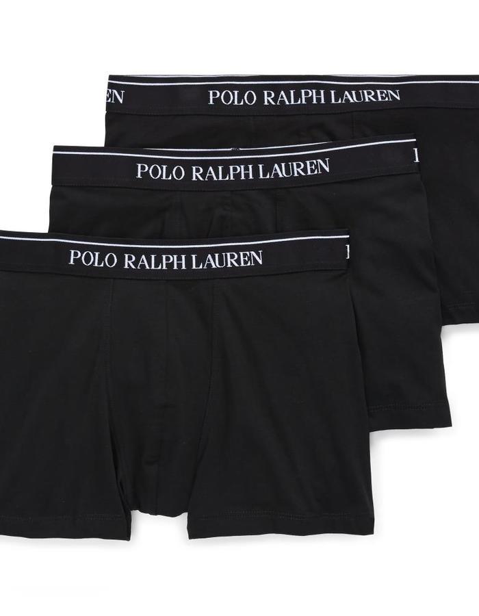 Stretch Katoen Boxers 3-Pack Zwart