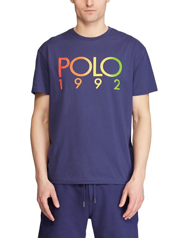 Ralph Lauren t-shirt korte mouw blauw