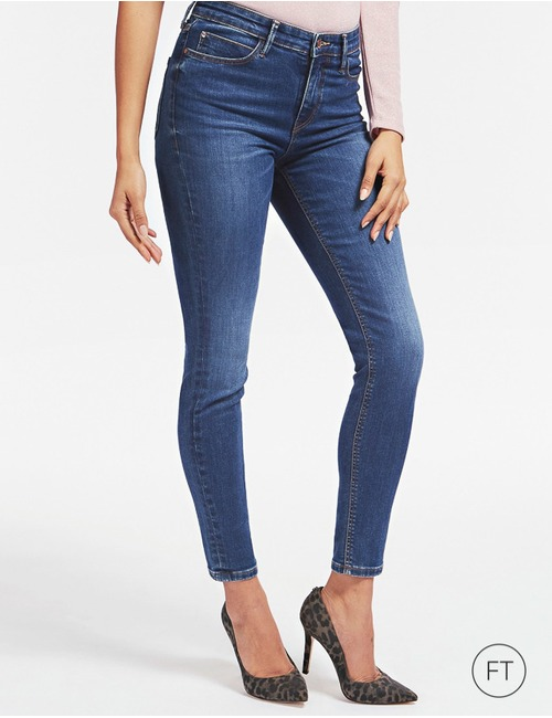 Guess jeans blauw