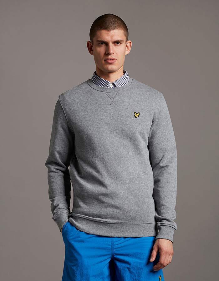 Lyle & Scott sweater grijs