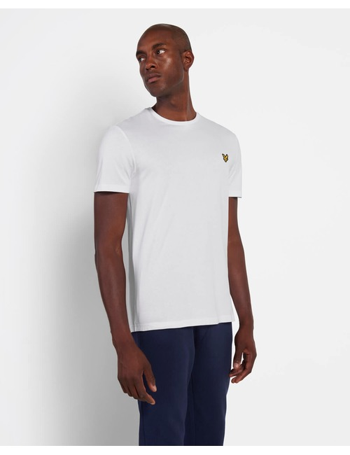 Lyle & Scott t-shirt korte mouw wit