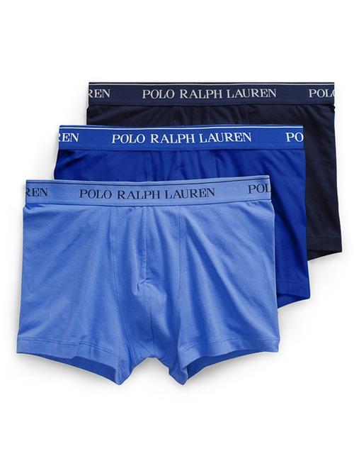 Stretch katoen Boxers 3-Pack Blauw