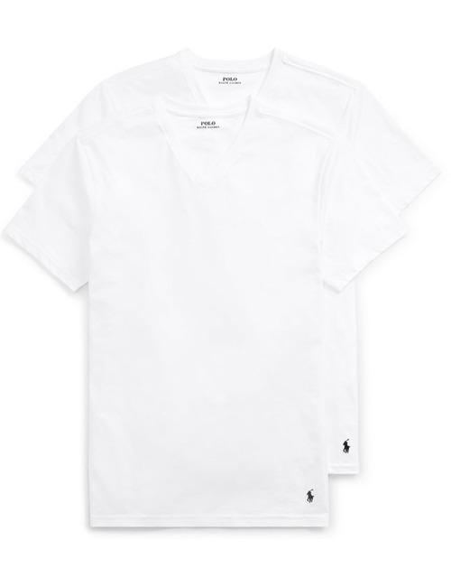 T-shirt V-hals 2-Pack