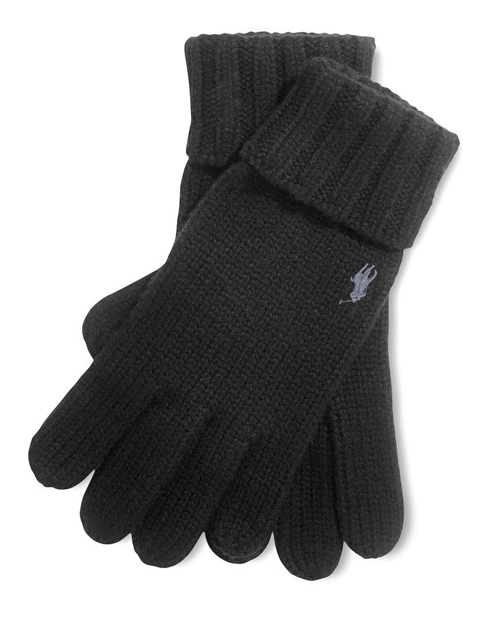 Ralph Lauren handschoenen zwart