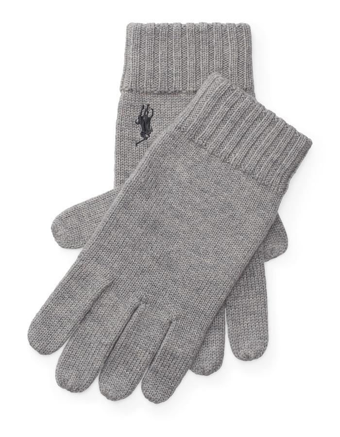 Ralph Lauren handschoenen grijs