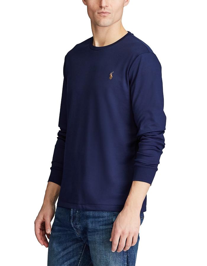 Ralph Lauren t-shirt lange mouw blauw