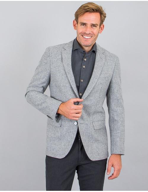 Boss blazer grijs