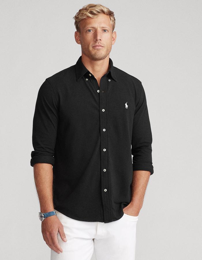 Ralph Lauren custom fit zwart