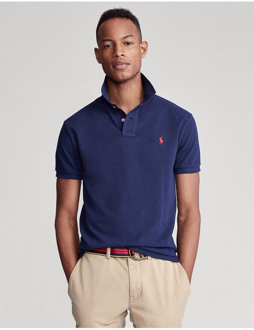 Ralph Lauren slim fit blauw