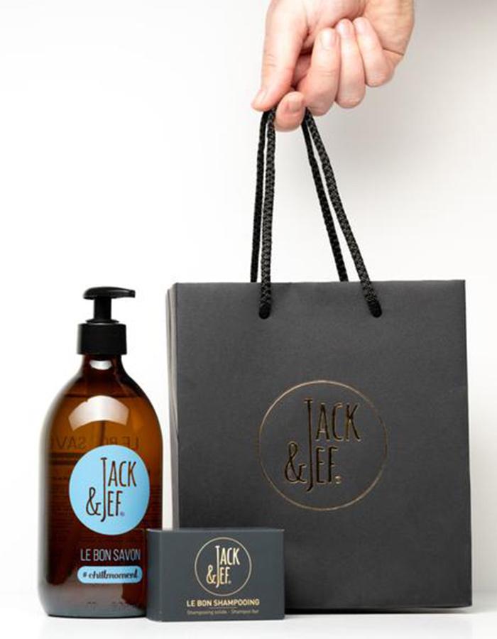 Jack & Jef shampoozeep ng