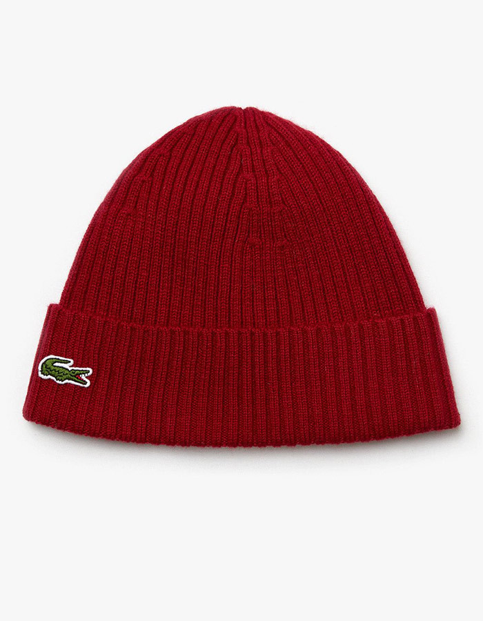 Lacoste muts rood