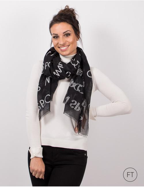 Marccain sjaals zwart