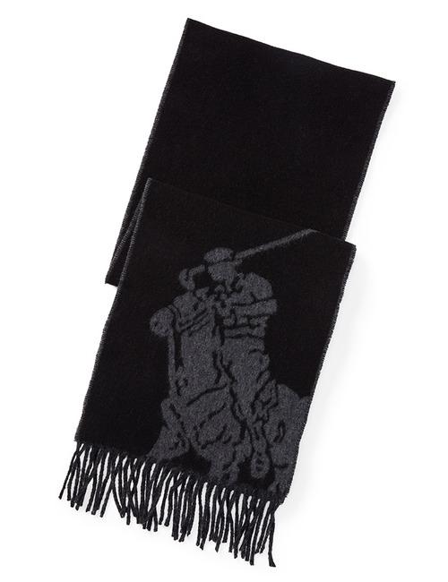 Ralph Lauren sjaal zwart