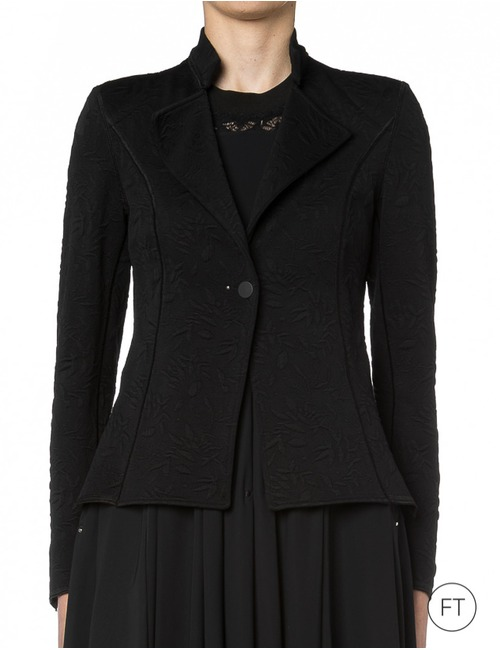 High blazer zwart