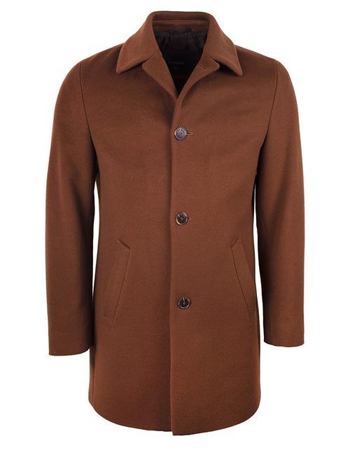 Wollen Mantel Bruin