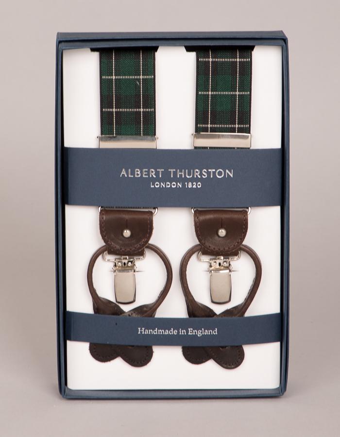 Albert Thurston bretellen multicolor