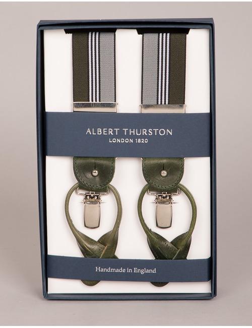 Albert Thurston bretellen groen