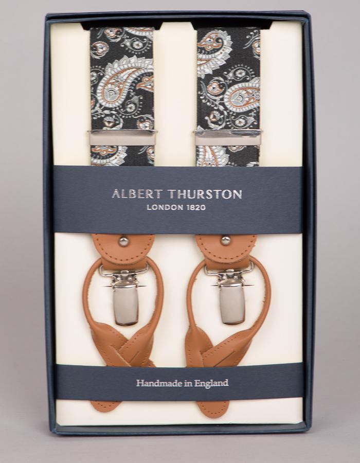 Albert Thurston bretellen zwart