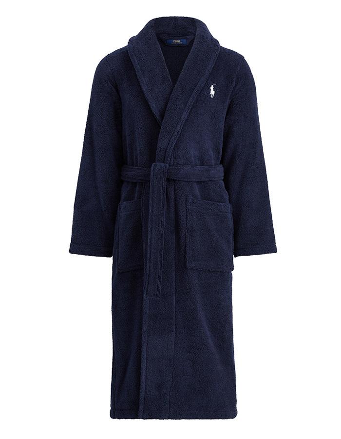 Ralph Lauren badjas blauw