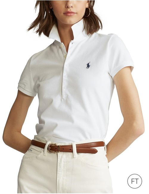 Ralph Lauren Dames polo wit