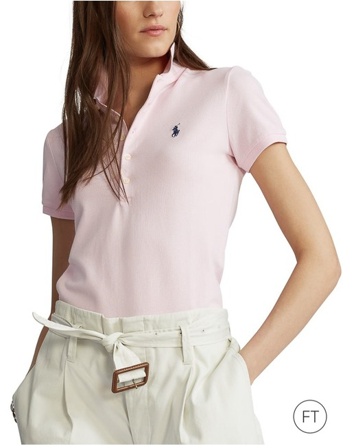 Ralph Lauren Dames polo rose