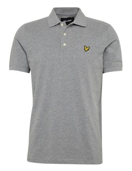 Lyle & Scott polo grijs
