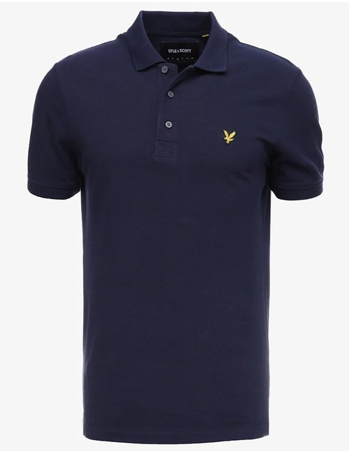Lyle & Scott polo blauw