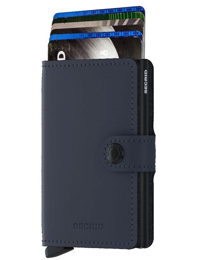 Miniwallet Matte Blauw