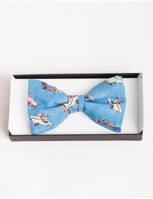 Ascot vlinderdassen blauw