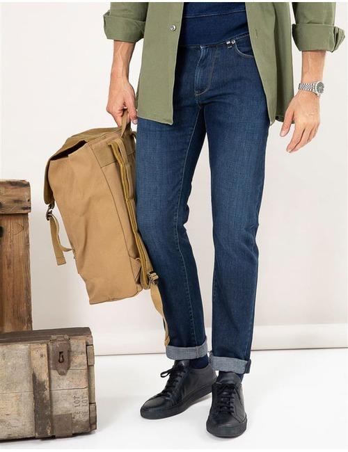 Slim Fit Jeans Rodger Blauw