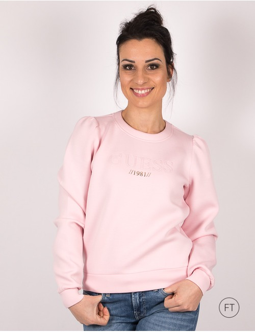 Guess lange mouw sweater rose