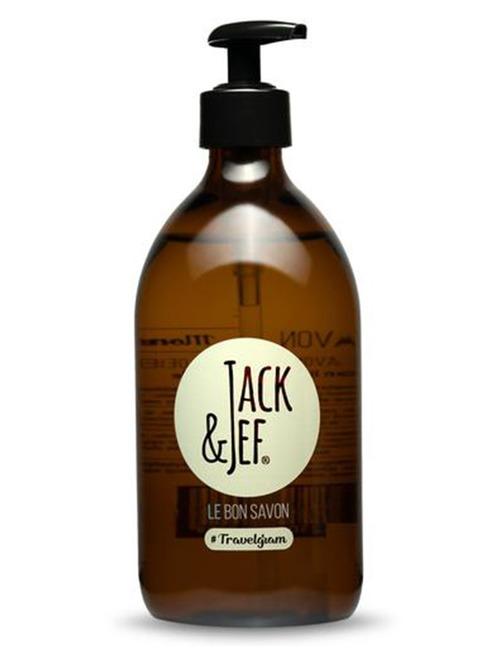 Jack & Jef shampoozeep geel