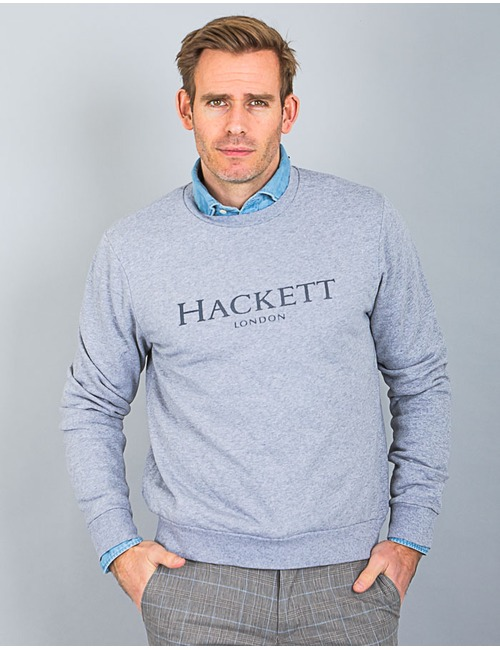 Hackett sweater grijs