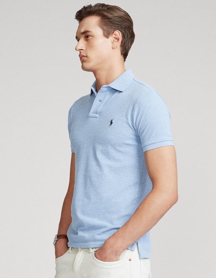Ralph Lauren slim fit blauw