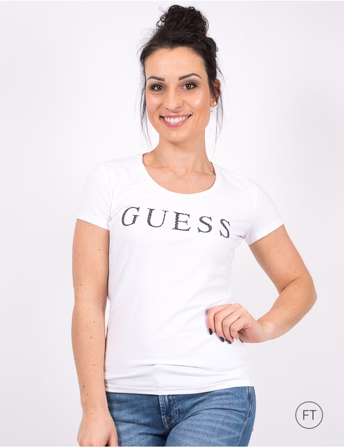 Guess t-shirt korte mouw wit