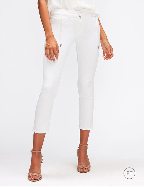 7 For All Mankind straight fit jeans wit