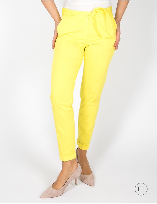 Terre Bleue chino geel