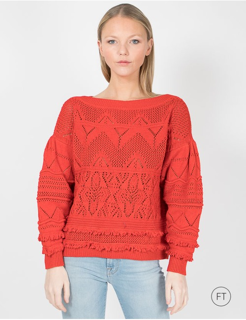 Twinset pull rood