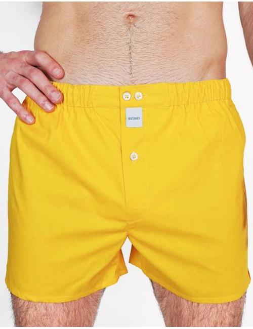 Sixtine's boxershorts geel