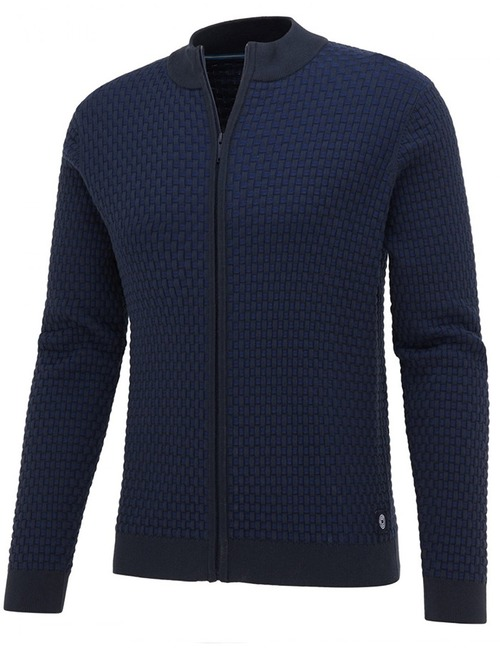 Blue Industry pull blauw