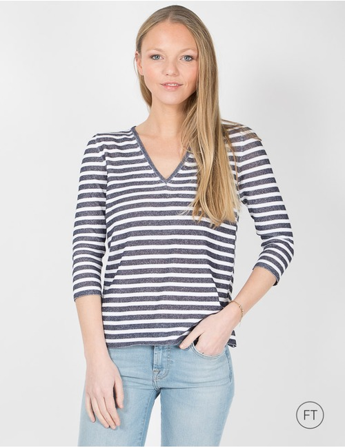 Anne Claire pull beige