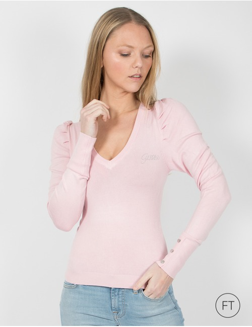 Guess lange mouw pull rose