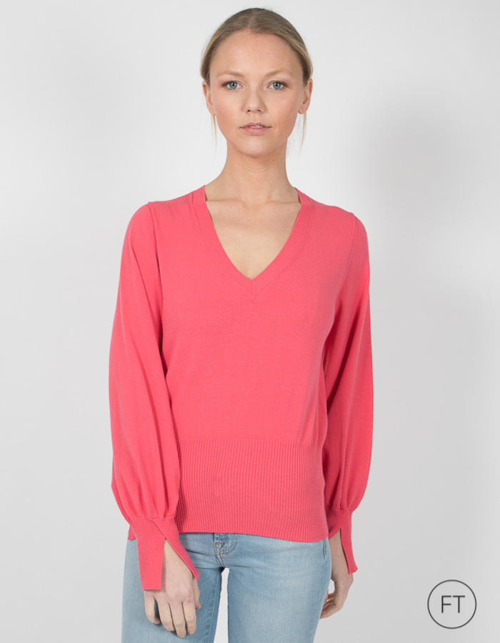 Twinset pull rose