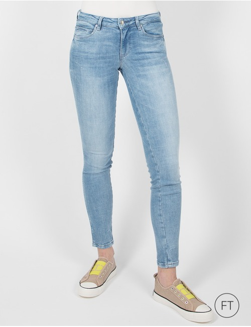 Guess slim fit jeans blauw
