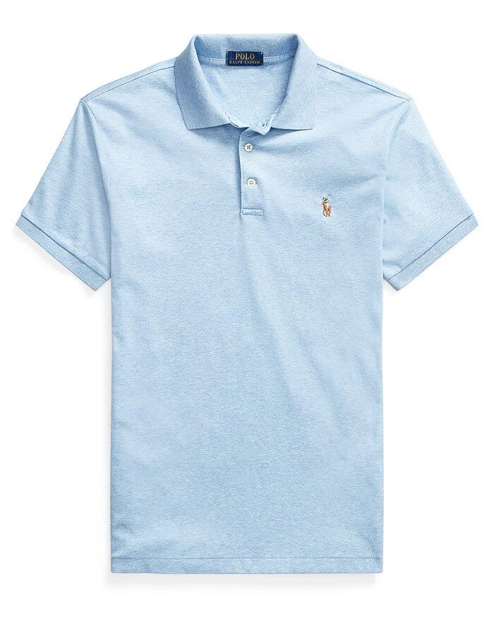 Ralph Lauren polo slim fit blauw