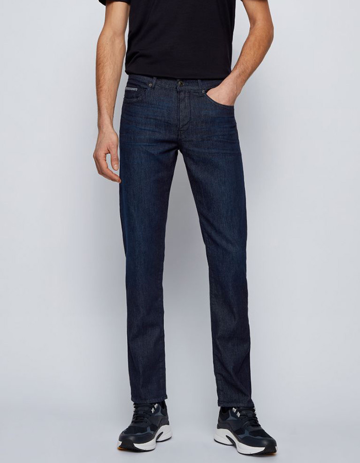 Delaware slim fit lightweight denim jeans