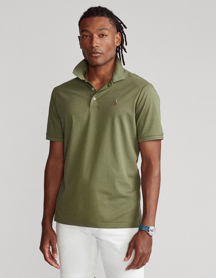 Slim Fit Soft Cotton Polo
