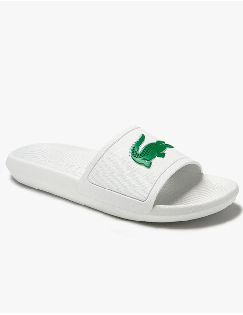 Lacoste slipper wit